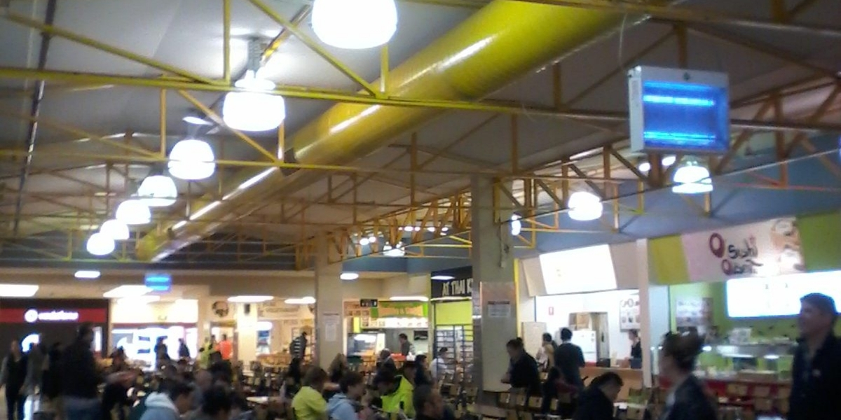Food Court Lighting Upgrade